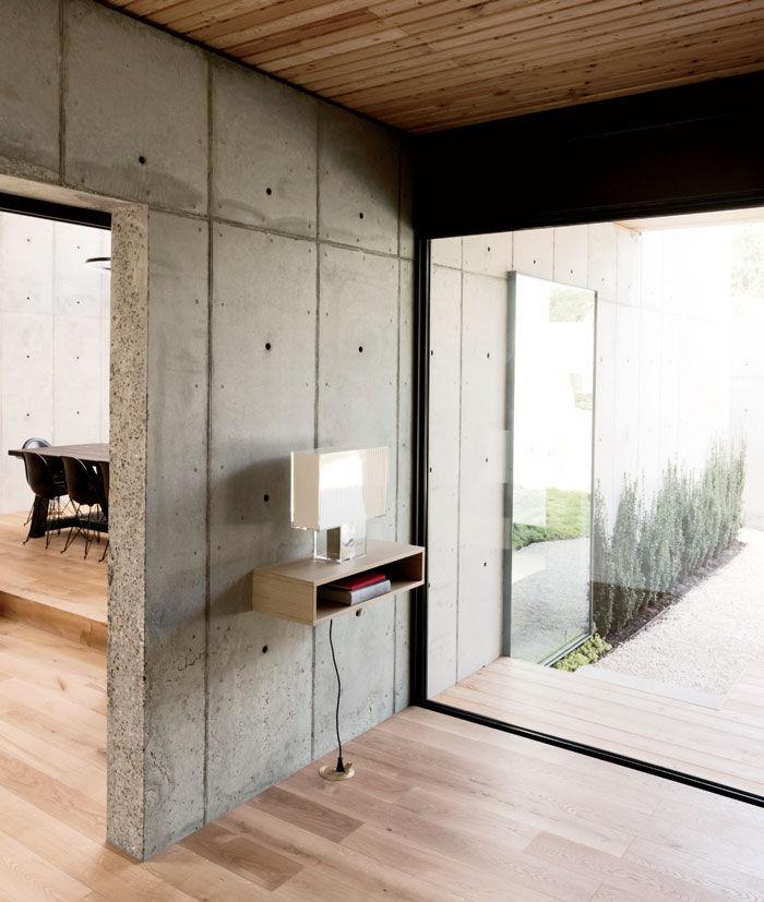 minimal concrete house by robertson design studio 7 Minimal Concrete House By Robertson Design Studio