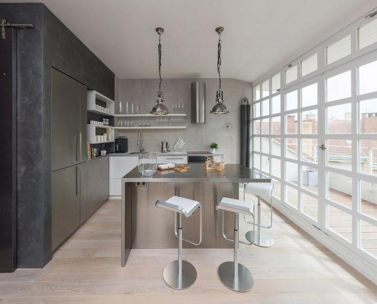oooox apartment loft 17 Industrial Modern Loft Apartment