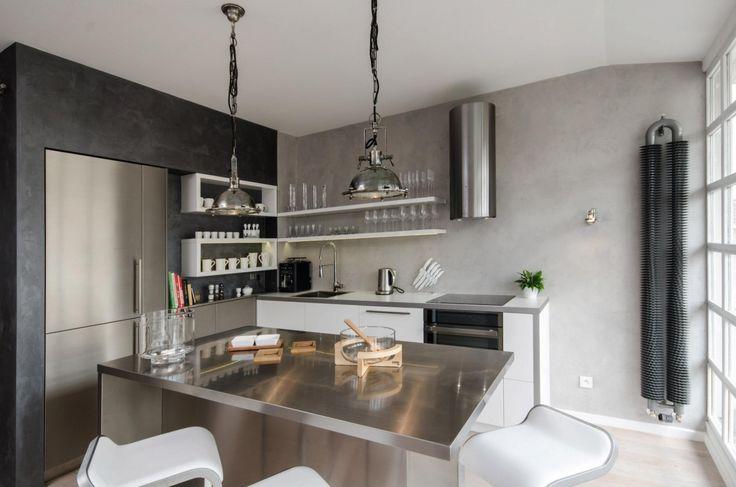 oooox apartment loft 18 Industrial Modern Loft Apartment