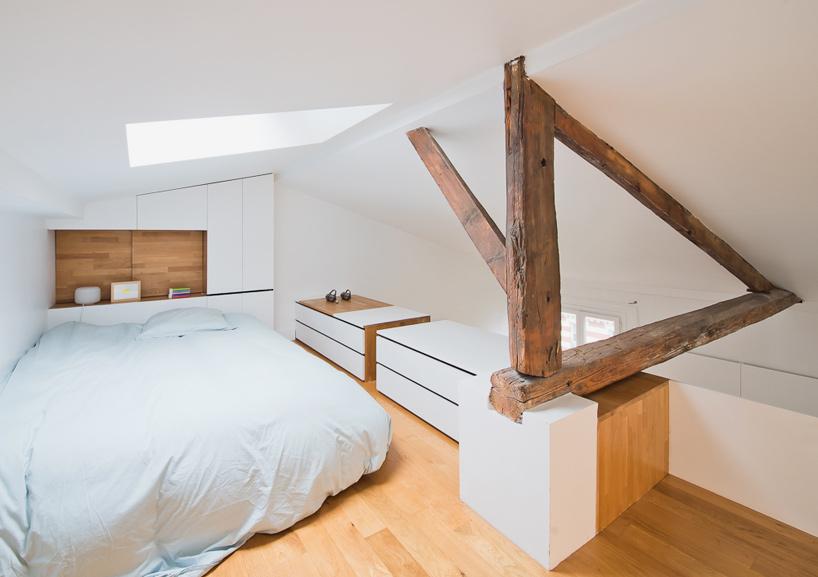 parisian apartment of a young fashion designer 10 Vertical Garden Grows In This Parisian Apartment Of A Young Fashion Designer