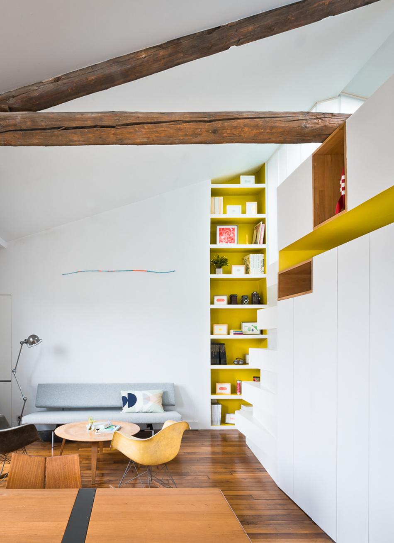 parisian apartment of a young fashion designer 13 Vertical Garden Grows In This Parisian Apartment Of A Young Fashion Designer