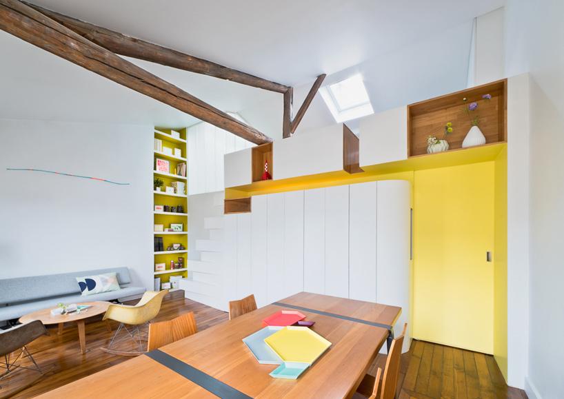 parisian apartment of a young fashion designer 4 Vertical Garden Grows In This Parisian Apartment Of A Young Fashion Designer