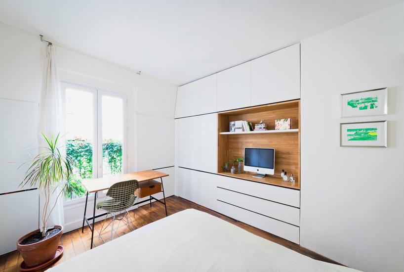 parisian apartment of a young fashion designer 8 Vertical Garden Grows In This Parisian Apartment Of A Young Fashion Designer