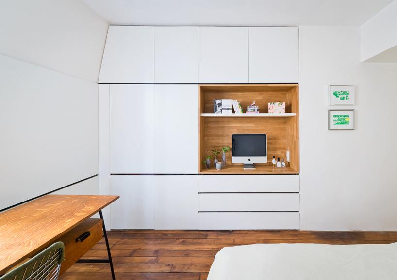 parisian apartment of a young fashion designer 9 Vertical Garden Grows In This Parisian Apartment Of A Young Fashion Designer