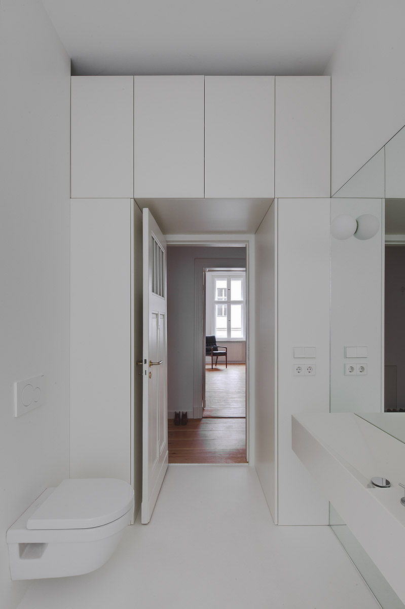 subtle apartment in berlin renovated by atheorem architects 3 Subtle Apartment In Berlin Renovated By Atheorem Architects