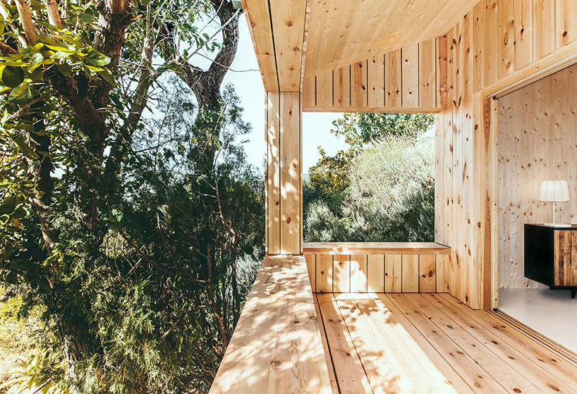 a sustainable timber cabin by dom arquitectura 2 A Sustainable Timber Cabin By Dom Arquitectura