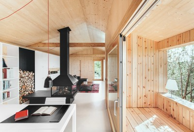 A Sustainable Timber Cabin By Dom Arquitectura