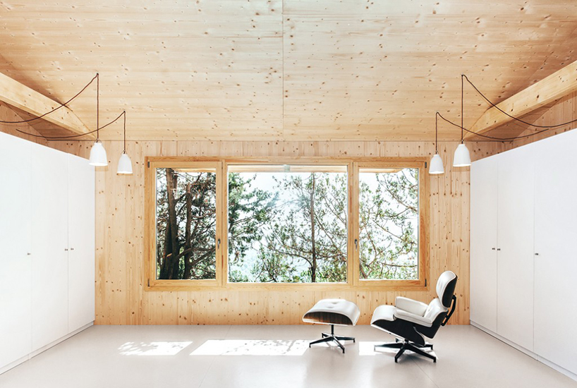 a sustainable timber cabin by dom arquitectura 6 A Sustainable Timber Cabin By Dom Arquitectura