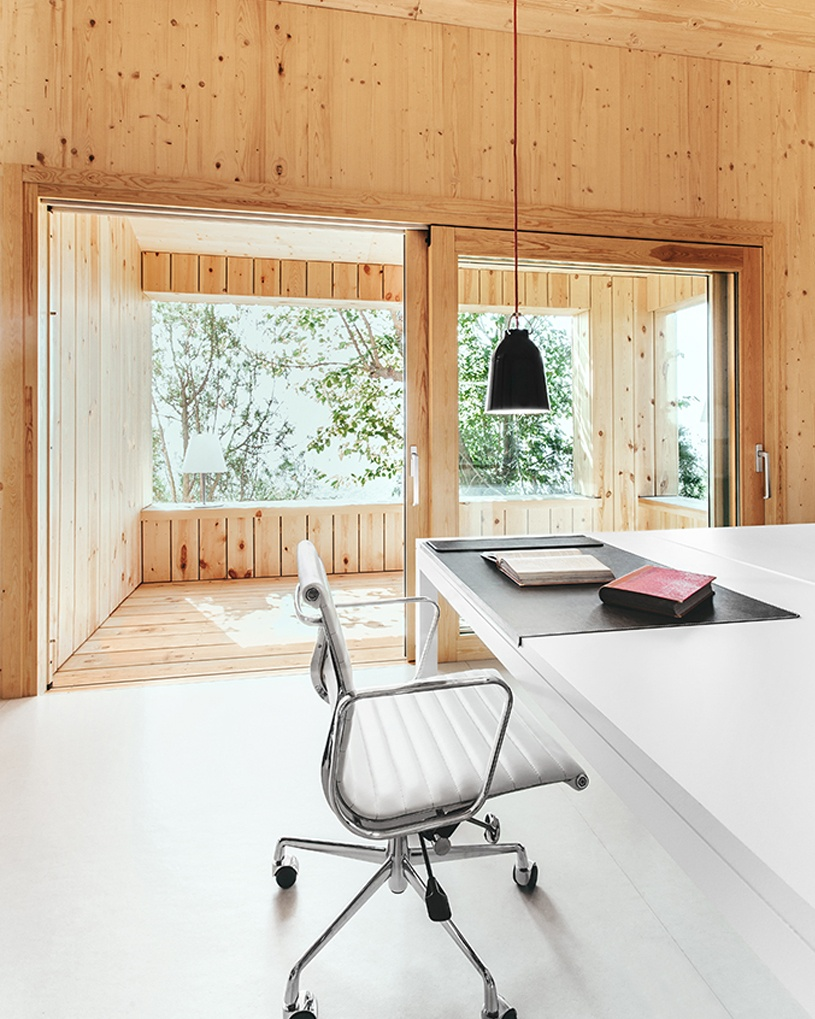 a sustainable timber cabin by dom arquitectura 7 A Sustainable Timber Cabin By Dom Arquitectura