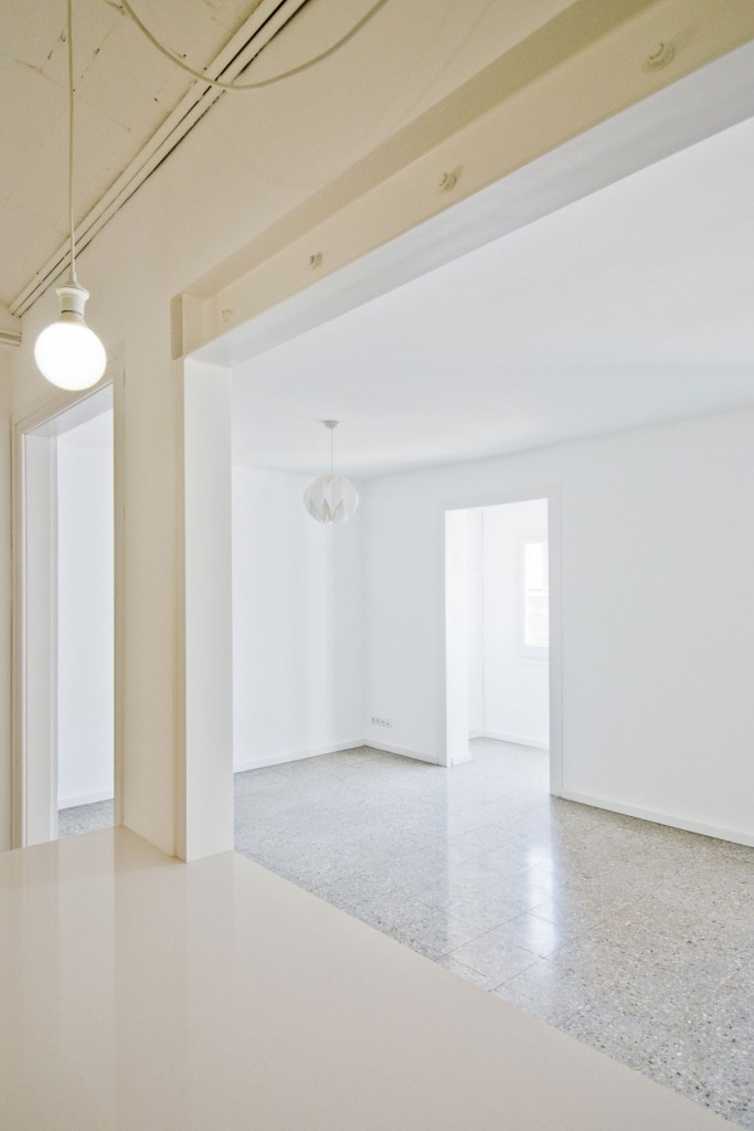 apartment renovation in barcelona 10 683x1024 Minimal Apartment Renovation In Barcelona