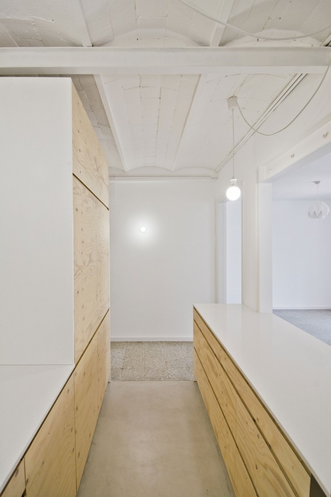 apartment renovation in barcelona 7 683x1024 Minimal Apartment Renovation In Barcelona