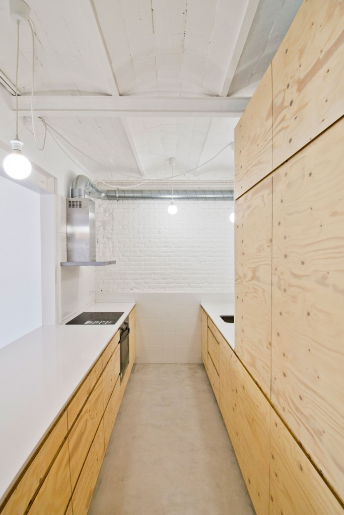 apartment renovation in barcelona 8 683x1024 Minimal Apartment Renovation In Barcelona