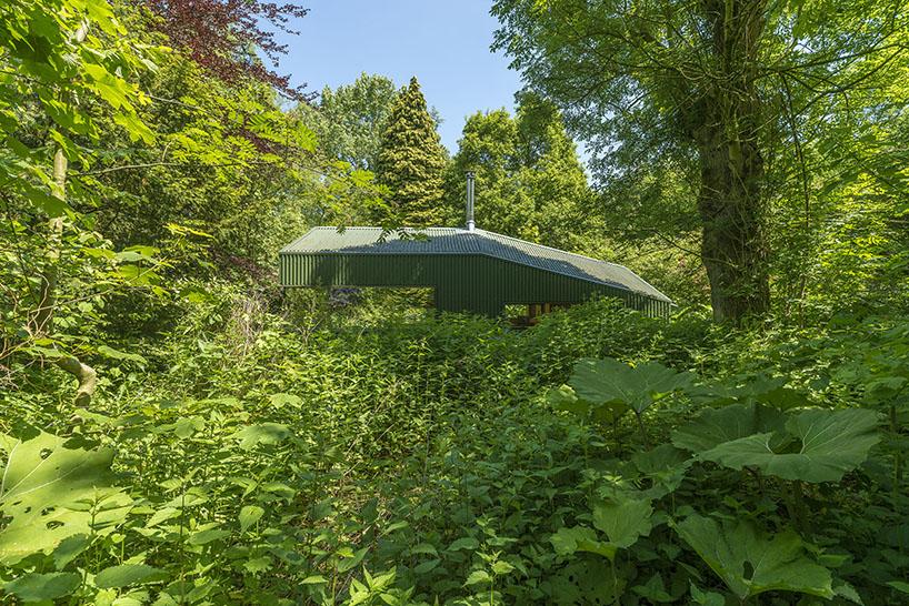 cc studio designed this hidden cabin in the park of amsterdam 6 CC Studio Designed This Hidden Cabin In The Noorderpark