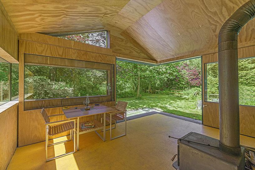 cc studio designed this hidden cabin in the park of amsterdam 7 CC Studio Designed This Hidden Cabin In The Noorderpark