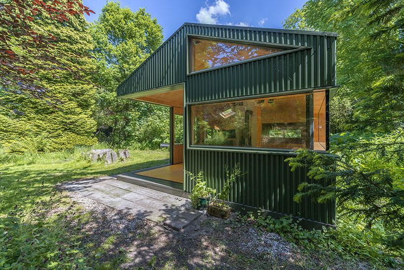 cc studio designed this hidden cabin in the park of amsterdam 8 CC Studio Designed This Hidden Cabin In The Noorderpark