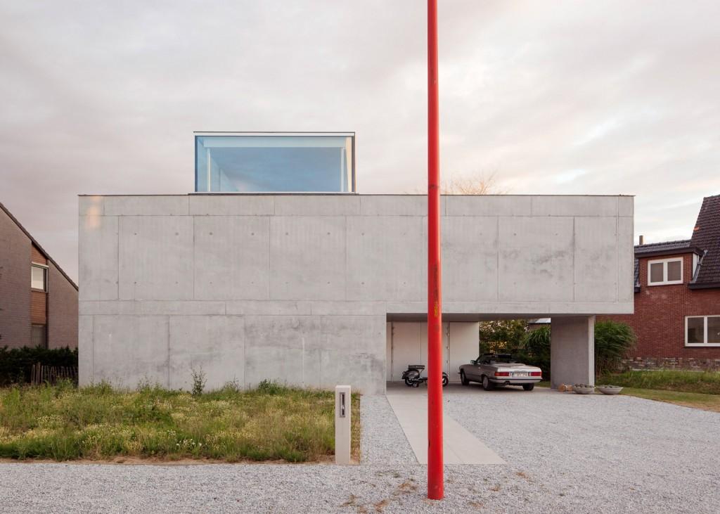concrete house by ism architecten 3 1024x731 Concrete House By ISM Architecten