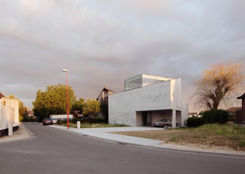 concrete house by ism architecten 4 1024x731 Concrete House By ISM Architecten