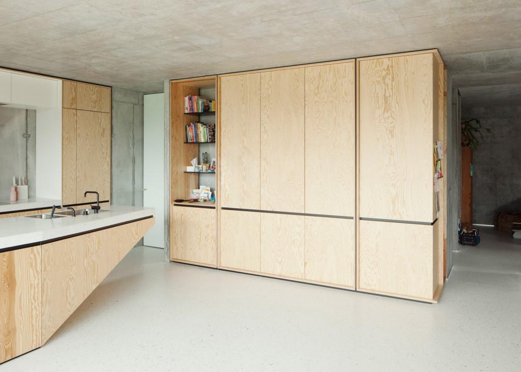 concrete house by ism architecten 5 1024x731 Concrete House By ISM Architecten