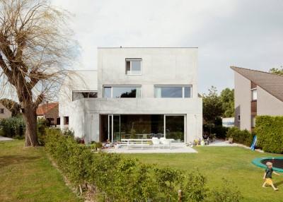 Concrete House By ISM Architecten