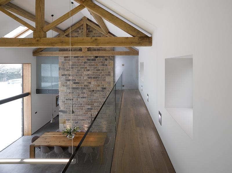 design rehabilitation 13 Barn Turned into Contemporary Home