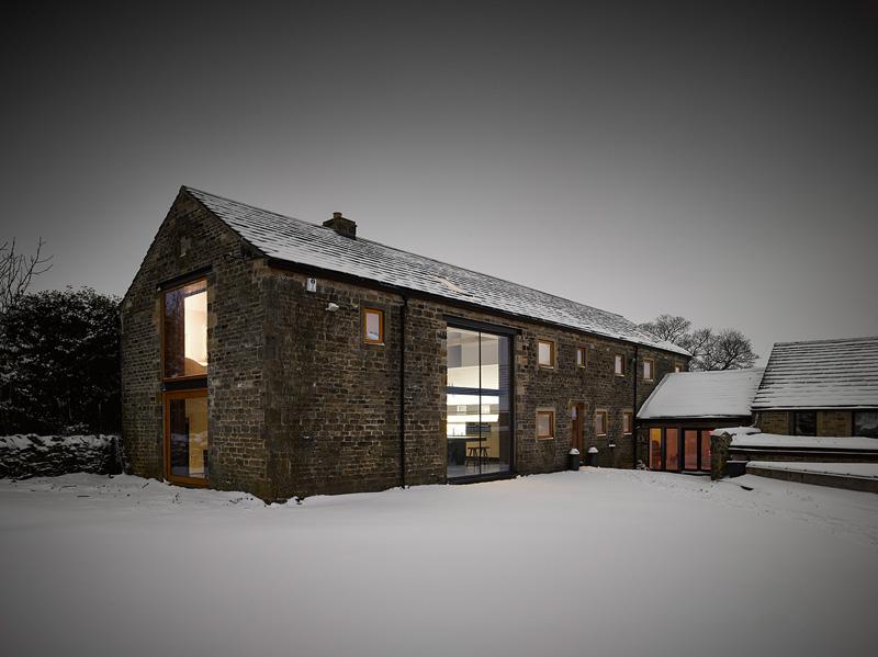 design rehabilitation 2 Barn Turned into Contemporary Home