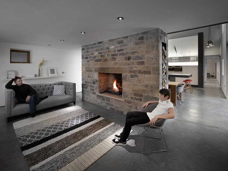design rehabilitation 4 Barn Turned into Contemporary Home