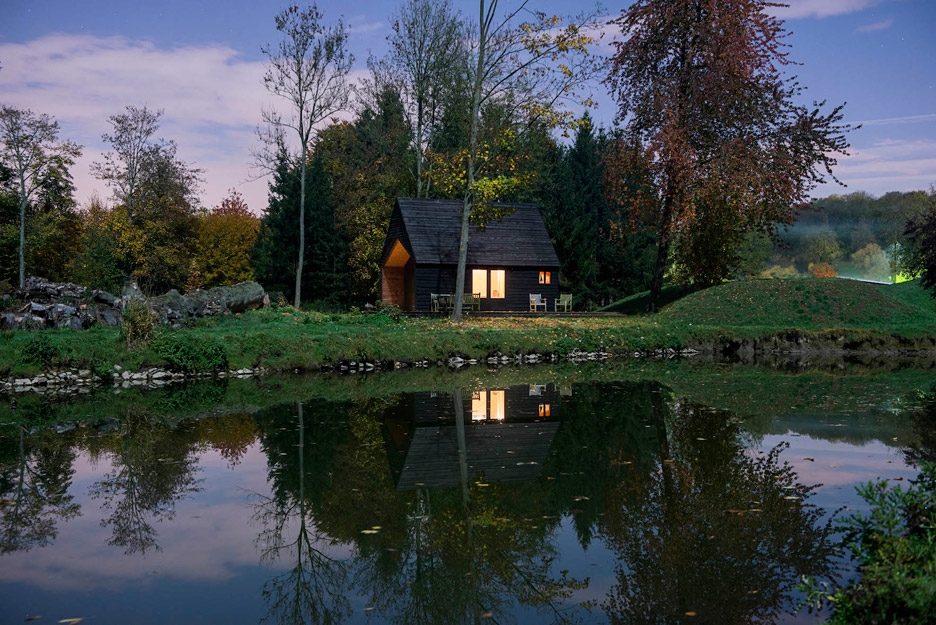 magical house on the lake in belgium 2 Your Getaway Place   A Magical House On The Lake In Belgium