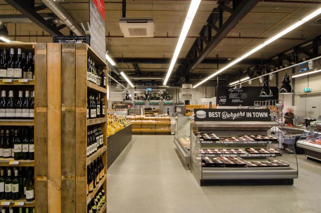 marqtgelderlandplein standardarchitect 13 1024x678 Marqt Supermarket In Amsterdam By Standard Studio