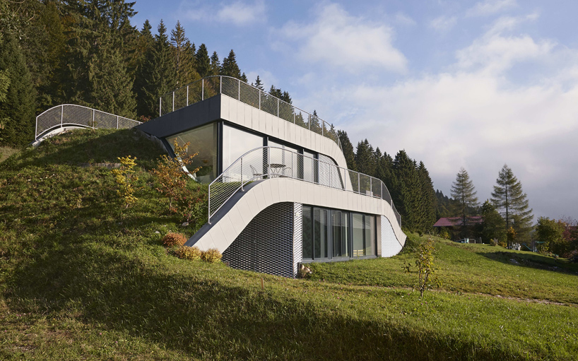 This House Was Embedded Into The Beautiful French Landscape