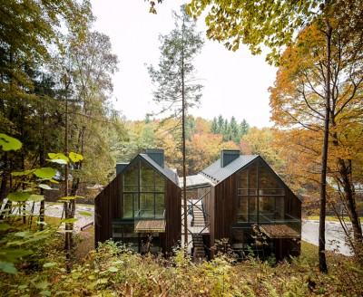 Wooden Residences In A Lithuanian Nature Reserve By Palekas Architects