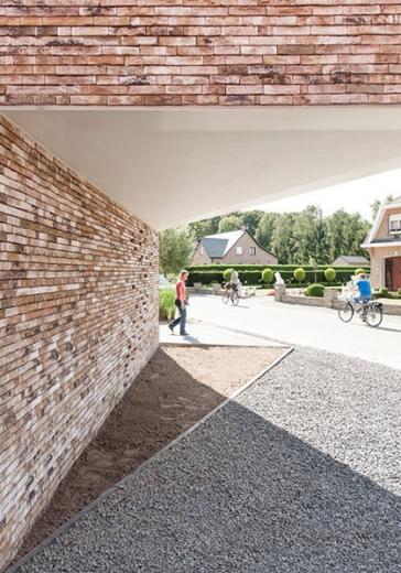 graux baeyens house k 10 House K by Graux and Baeyens Architects