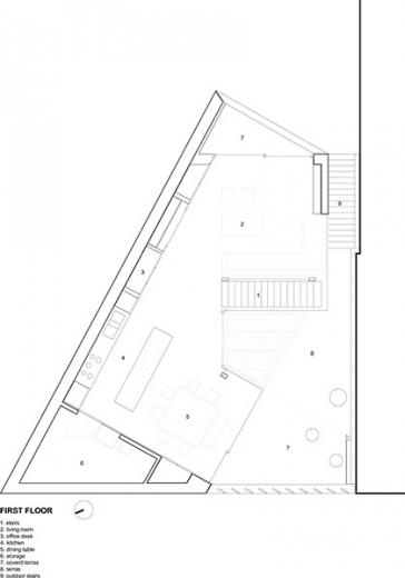 graux baeyens house k 16 House K by Graux and Baeyens Architects