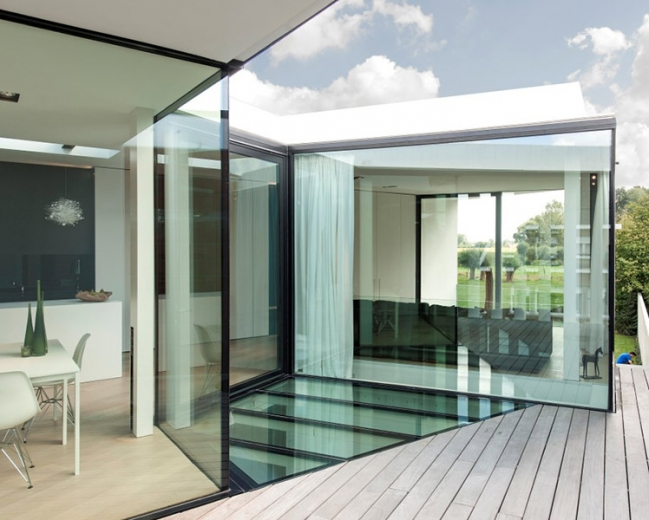 graux baeyens house k 21 House K by Graux and Baeyens Architects
