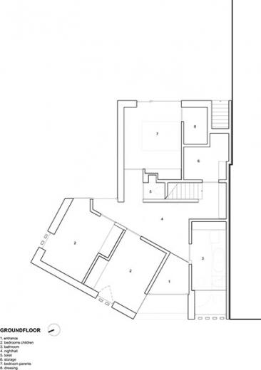 graux baeyens house k 5 House K by Graux and Baeyens Architects