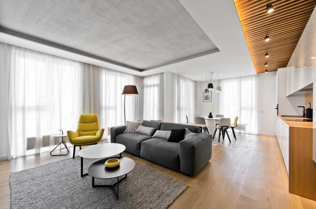 Apartments in Vilnius by Inarch