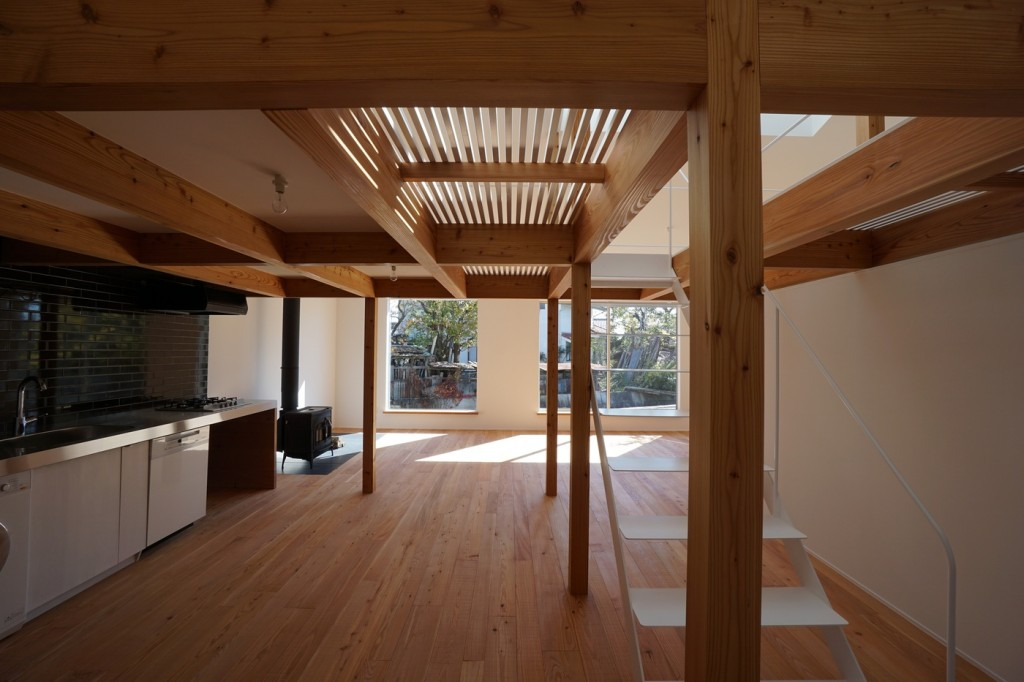 minimal house in japan with a huge dormer 5 1024x682 Minimal House In Japan With A Huge Dormer