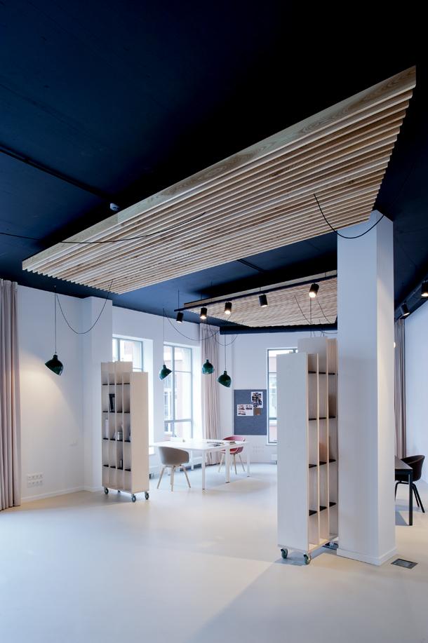 minimal office interior by mix match 1 Minimal Office Interior By Mix & Match