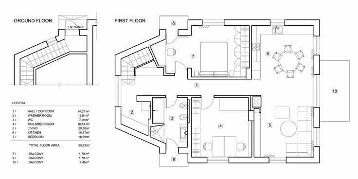 apartment in markuciai plan Apartment in Markuciai