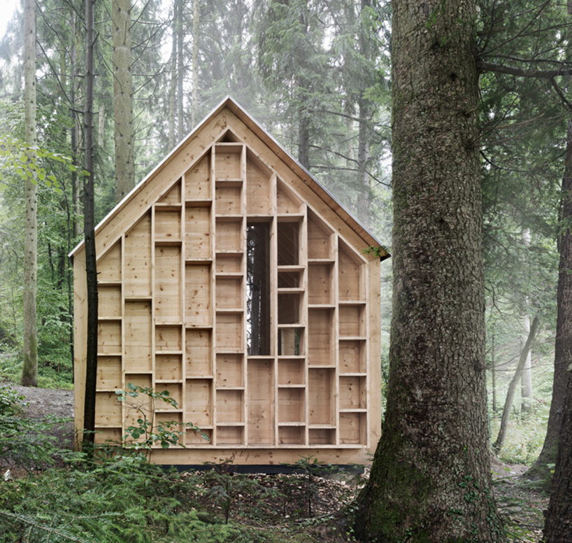 cabin in the forest allows children to explore the nature 2 Cabin In The Forest Designed For Children To Explore The Nature