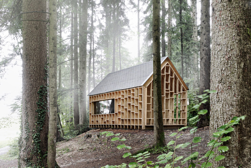 Cabin In The Forest Designed For Children To Explore The Nature
