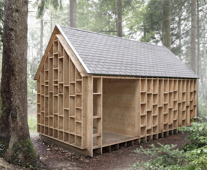 cabin in the forest allows children to explore the nature 8 Cabin In The Forest Designed For Children To Explore The Nature