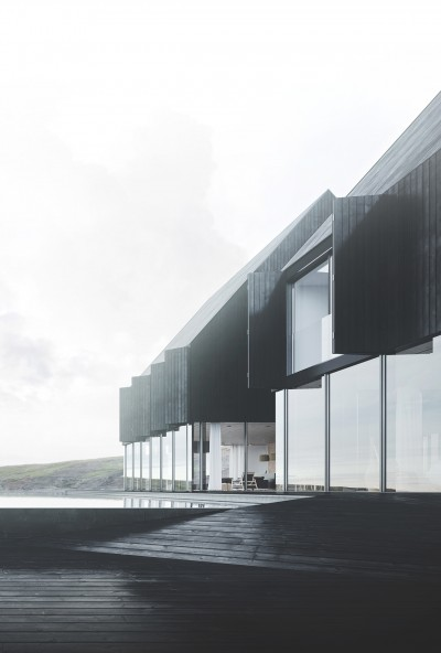 Minimal Architecture on a Solitary Iceland Landscape
