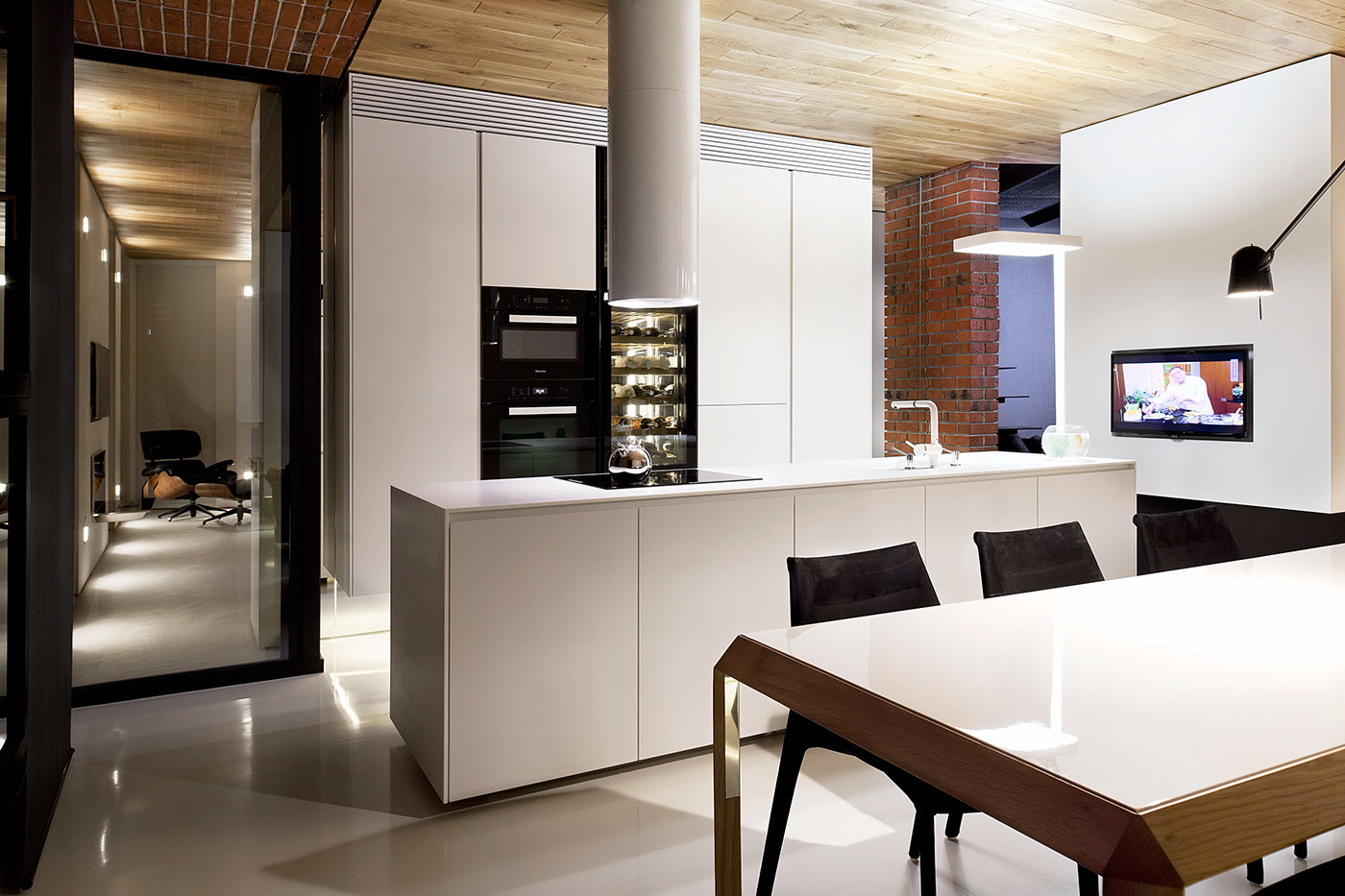 studio mode7 Loft Apartment By Studio Mode