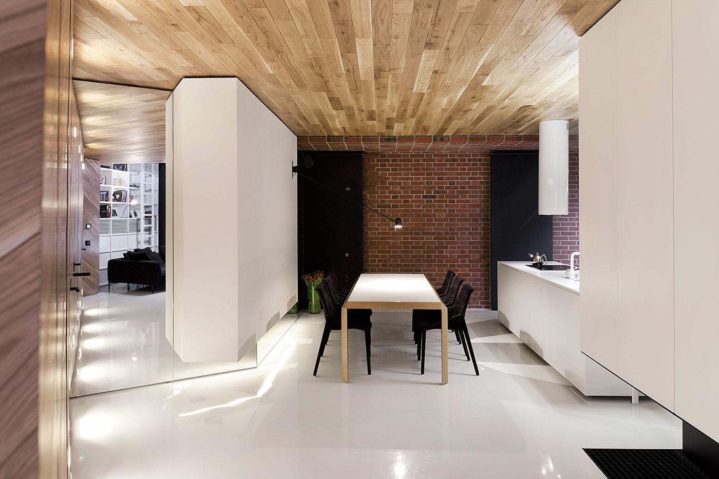 studio mode8 Loft Apartment By Studio Mode