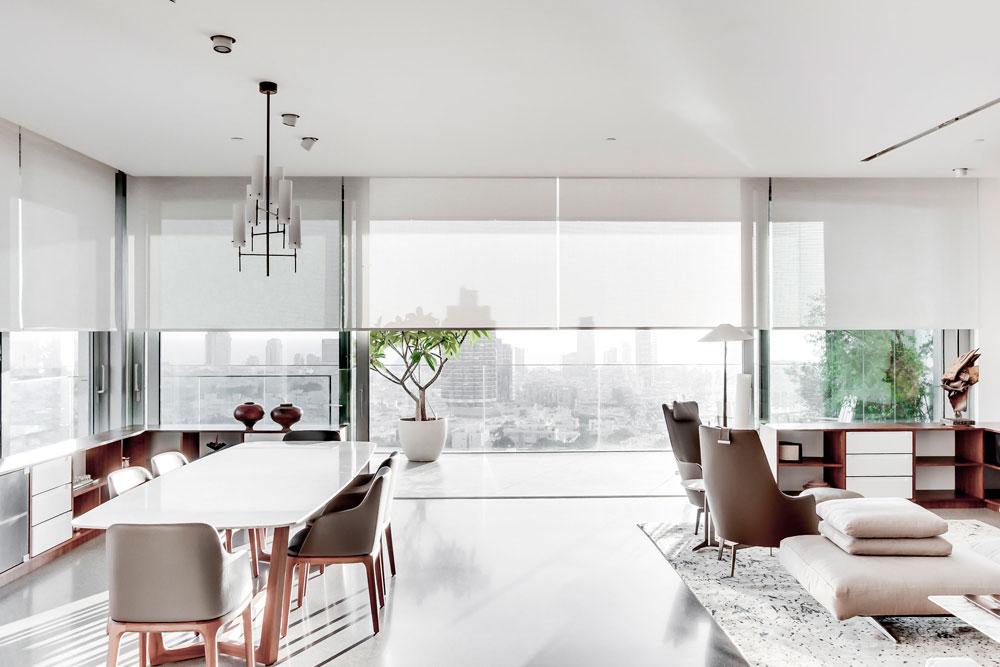 asaf lerman 225 apartment tel aviv Penthouse in Tel Aviv by Asaf Lerman Architects