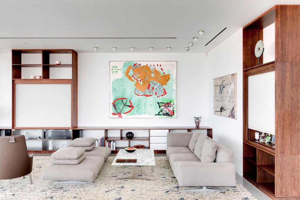 asaf lerman 225 apartment tel aviv1 Penthouse in Tel Aviv by Asaf Lerman Architects