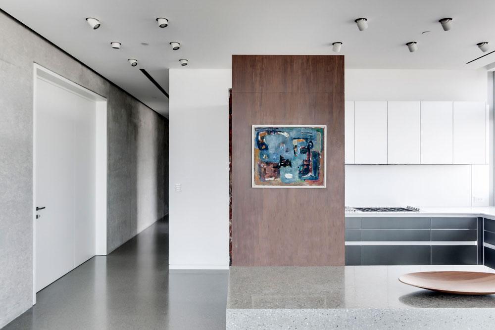 asaf lerman 225 apartment tel aviv3 Penthouse in Tel Aviv by Asaf Lerman Architects