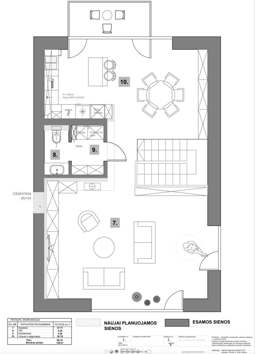 dizaino virtuve house on stilts32 House on Stilts by Dizaino Virtuve
