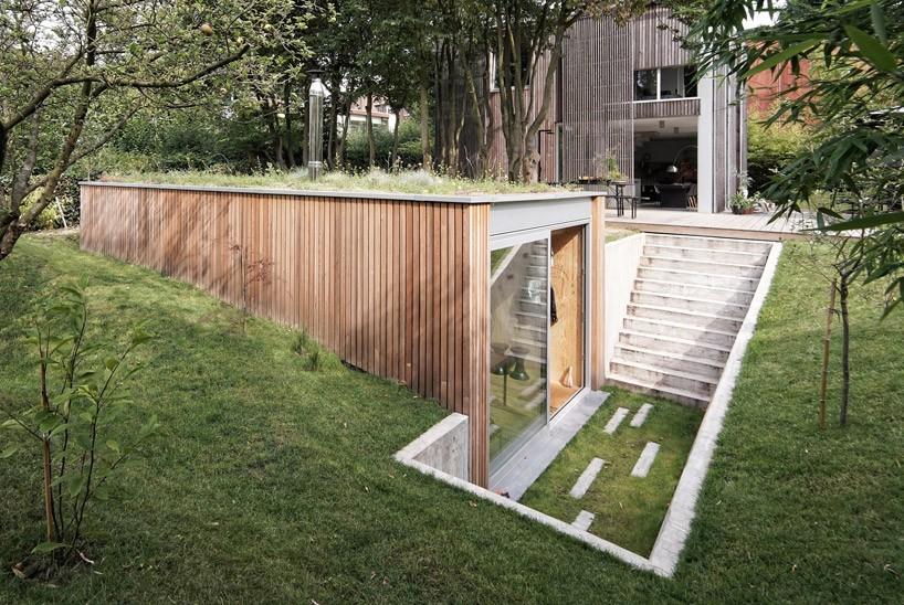 dream workspace in the garden by lescaut architects 1 Dream Workspace In The Garden By L'escaut Architects