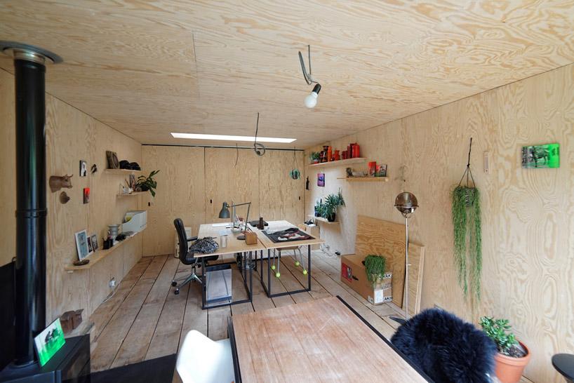 dream workspace in the garden by lescaut architects 15 Dream Workspace In The Garden By L'escaut Architects